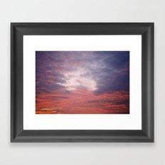 Norfolk, Sunset 2 Framed Art Print