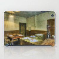 the office iPad Cases featuring Antique Office by Ian Mitchell