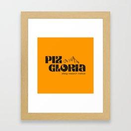 Piz Gloria – allergy research institute Framed Art Print