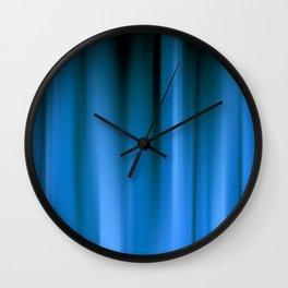 WARP SPEED | blue Wall Clock