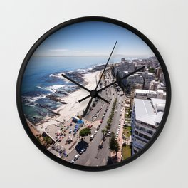 Sea Point in Cape Town, South Africa Wall Clock