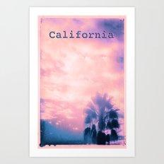 California Pink Art Print