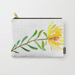 Golden Conebush Carry-All Pouch