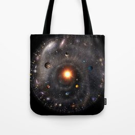 Spherical Universal View Tote Bag