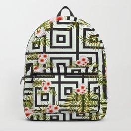 Geometric Jungle Backpack