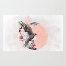 Visions Of Crystal Eyed Ravens Rug