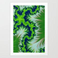 Earth Fractal Art Print