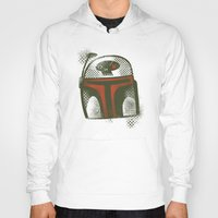 boba Hoodies featuring STARWARS Boba by Tim Lee