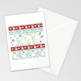 Hot rod christmas Stationery Cards