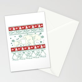 Hot rod christmas Stationery Cards