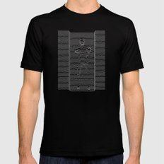 Joy Division: Going Solo LARGE Mens Fitted Tee Black