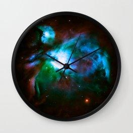 Deep Dark Orion NeBuLa : Hauntingly Beautiful Space Series Wall Clock