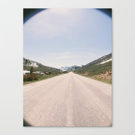 Somewhere in the World  Canvas Print