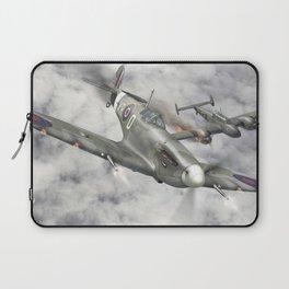 Supermarine Spitfire Bf 110 Laptop Sleeve