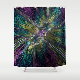 100 Character Max Shower Curtain