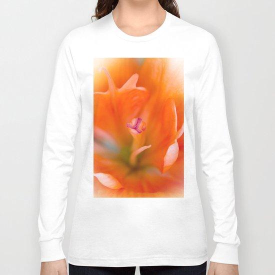 Lily Flower Closeup Long Sleeve T-shirt