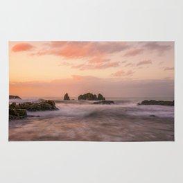 Coastal sunset Rug