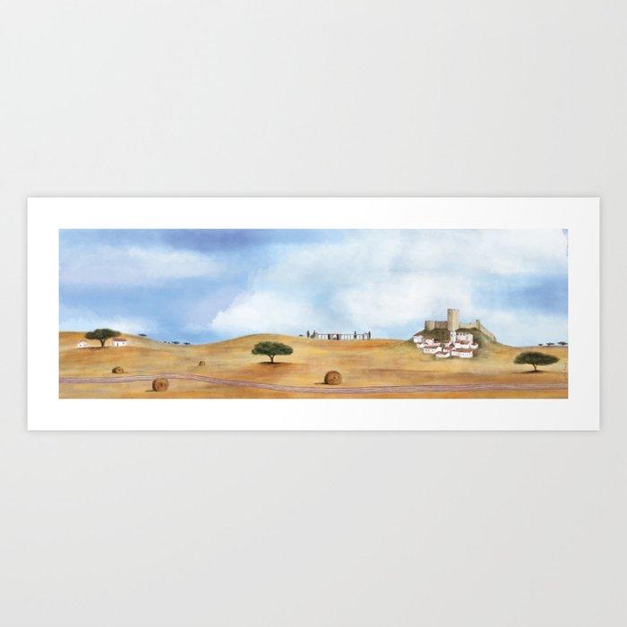 Alentejo landscape Art Print