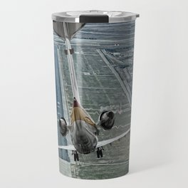 Flap fail landing Travel Mug
