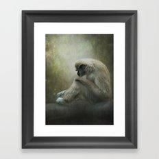 In my own world... Framed Art Print