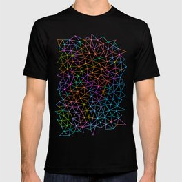 Geometric Glow T-shirt