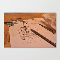 R2D2 Canvas Print