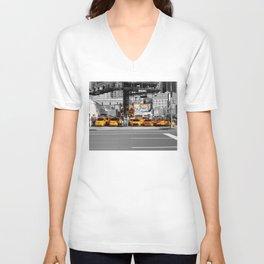 Taxi! - NYC series VI. -  Unisex V-Neck