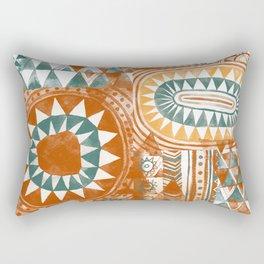 Tribal Bohemian Mosaic Rectangular Pillow
