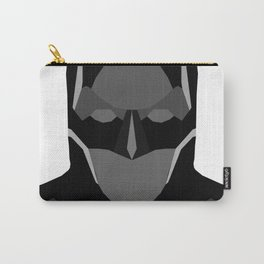Geomtric Bat-man Carry-All Pouch