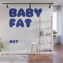 CHUBBY BABY Wall Mural