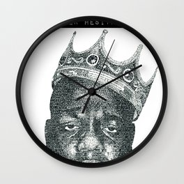 excellence is my presence Wall Clock