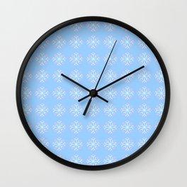 snowflake 6 For Christmas ! Wall Clock
