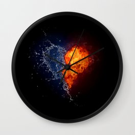 Goods and bads of Heart Wall Clock