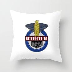 Bottecchia Bicycle Logo Throw Pillow