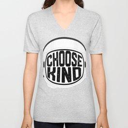 Choose Kind Anti Bullying Helmet Unisex V-Neck