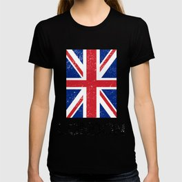 Weathered Look London Union Jack Graphic T-shirt