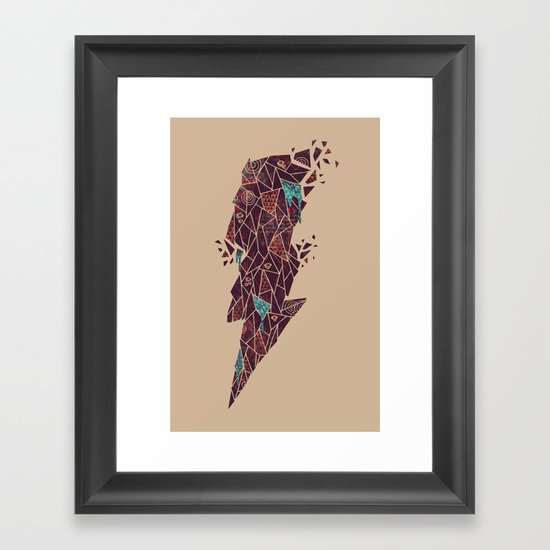 Dark Matter Framed Art Print