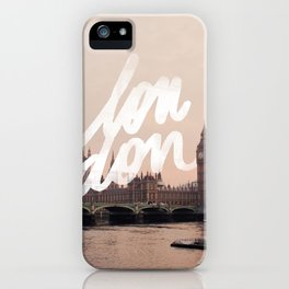 Brace yourselves, lots of London artwork are coming... iPhone Case