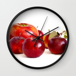 Apple Lineup Wall Clock
