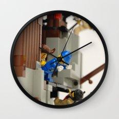 Lego Fight Wall Clock