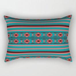 Ethnic Bohemian Kilim Style Pattern 2 Rectangular Pillow