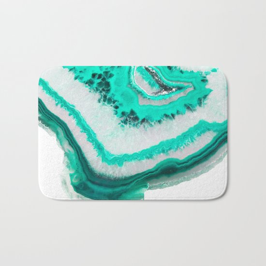 Mint Agate Bath Mat