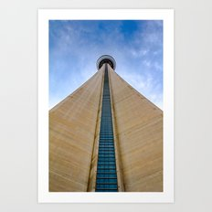 CN Tower up close Art Print