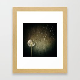 seed escape Framed Art Print