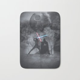 Luke fighting against his father. Bath Mat