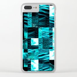 sea collage Clear iPhone Case