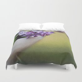 A Touch of Lilacs Duvet Cover