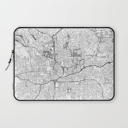 Atlanta White Map Laptop Sleeve