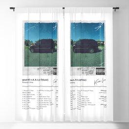 Kendrick Lamar - good kid, m.A.A.d city (Deluxe) - Album Art Blackout Curtain