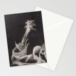 Guitar Ghost Stationery Cards